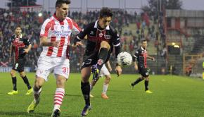 Luca Castiglia, qui in campo contro il Vicenza (Foto Ivan Benedetto)