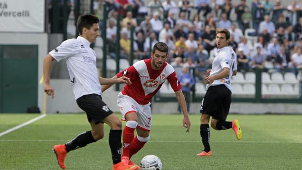 Niccolò Belloni contro il Varese (Foto: Ivan Benedetto - Iguan Photo)