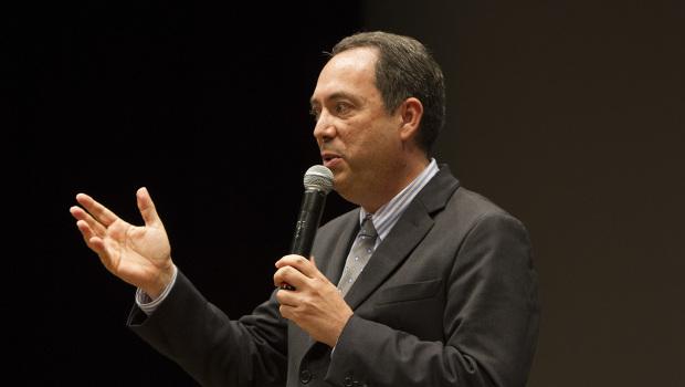 Il presidente della Pro Vercelli, Massimo Secondo (Foto Ivan Benedetto)