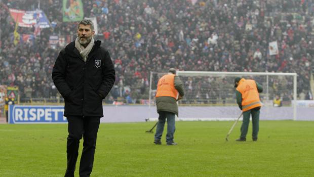 Mister Cristiano Scazzola, qui a Bologna (Ivan Benedetto)