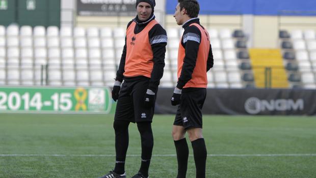 Michele Ferri e Matteo Liviero in allenamento (Foto Ivan Benedetto)