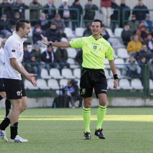 L'arbitro Ivano Pezzuto (Foto Ivan Benedetto)