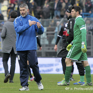 Mister Scazzola e Danilo Russo (Foto Ivan Benedetto)