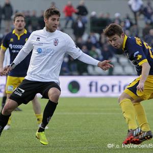 Manuel Scavone contro il Modena (Foto Ivan Benedetto)