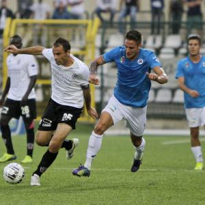 Massimiliano Scaglia in azione (Foto Ivan Benedetto)