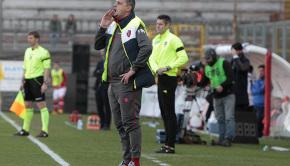Andrea Camplone durante Perugia-Pro Vercelli (Foto Ivan Benedetto)