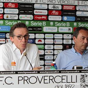 L'AD Fabrizio Rizzi e il presidente Massimo Secondo (Foto Ivan Benedetto)