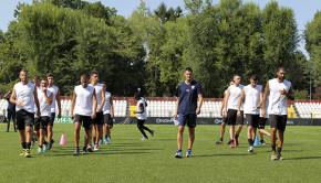 I Leoni in allenamento (Foto Ivan Benedetto)