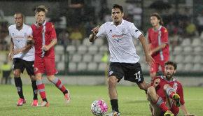 Francesco Ardizzone contro l'Alessandria (Foto Ivan Benedetto)