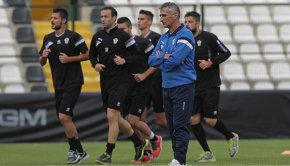 Claudio Foscarini in allenamento (Foto Ivan Benedetto)