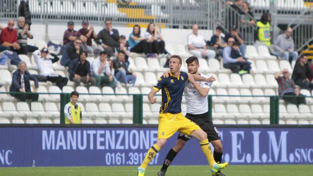 Alex Redolfi contro il Modena (Foto Ivan Benedetto)