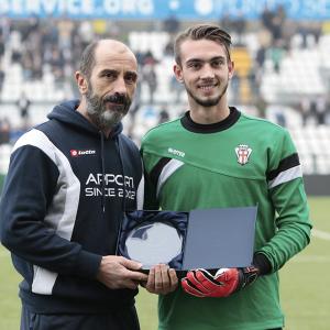 Andrea Zaccagno riceve il premio Apport (Foto Ivan Benedetto)