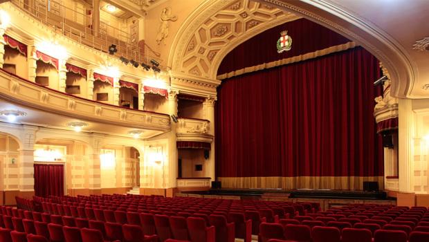 Teatro Civico di Vercelli (Foto Ivan Benedetto)