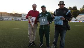 """Tifosi Palmeiras al """"Piola"""" (Foto Ivan Benedetto)"""