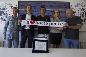 Vives premiato dal Club Forza Pro (Foto Ivan Benedetto)