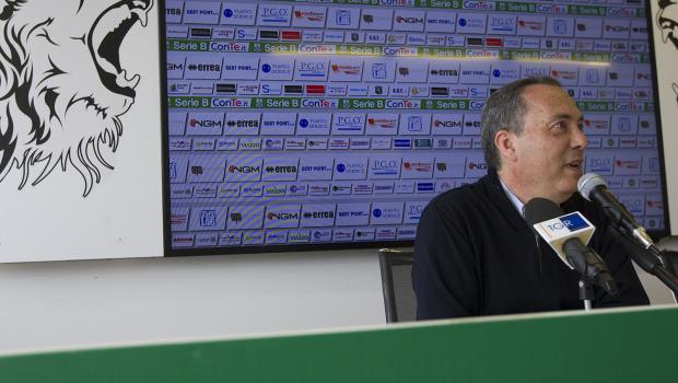 Massimo Secondo in conferenza stampa (Foto Ivan Benedetto)