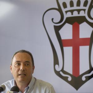 Il Presidente Massimo Secondo (Foto Ivan Benedetto)