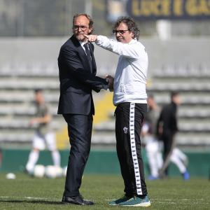 Zironelli e Grieco (Foto Ivan Benedetto)