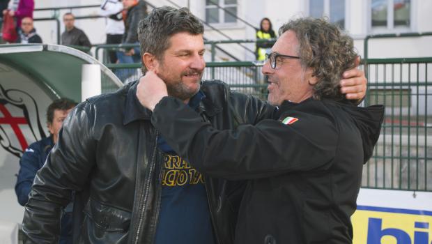Silvio Baldini e Vito Grieco (Foto Ivan Benedetto)