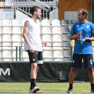 Paulo Azzi e Alberto Gilardino (Foto Ivan Benedetto)