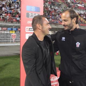 Cristian Brocchi e Alberto Gilardino (Foto Ivan Benedetto)