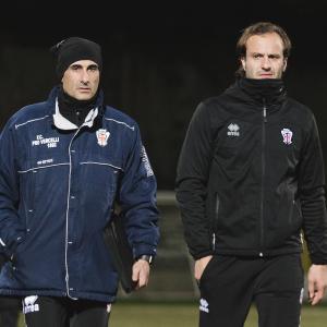 Gaetano Caridi e Alberto Gilardino (Foto Ivan Benedetto)
