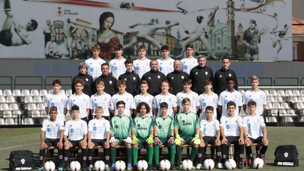 Pro Vercelli Under 15 (Foto Ivan Benedetto)