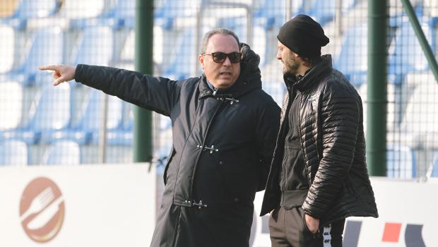 Massimo Secondo e Alberto Gilardino (Foto Ivan Benedetto)